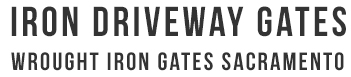 Iron Driveway Gates and Wrought Iron Driveway Gates Logo